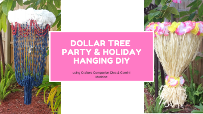 Dollar Tree Party Hanging DIY you tube