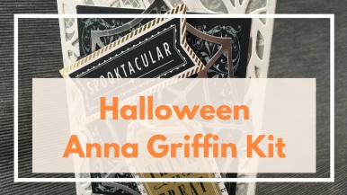 Halloween Anna Griffin Kit